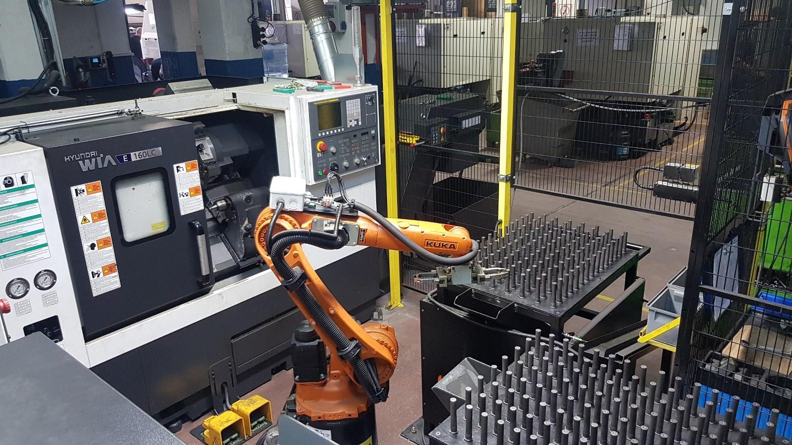 CNC Tezgahlara Parça Yükleme Boşaltma Uygulamaları